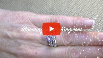 Tiffany Style 9 Large Stone Diamond Engagement Ring Set Bbr5544eb 1 Unique Engagement Rings For Women By Blooming Beauty Jewelry