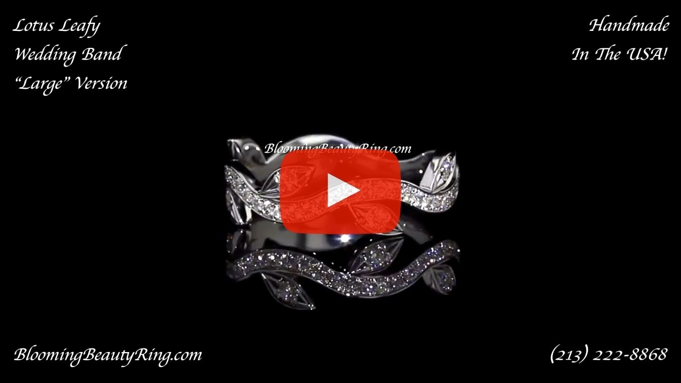 0.50 ctw. Matching Wedding Band BBR-626B laying down video