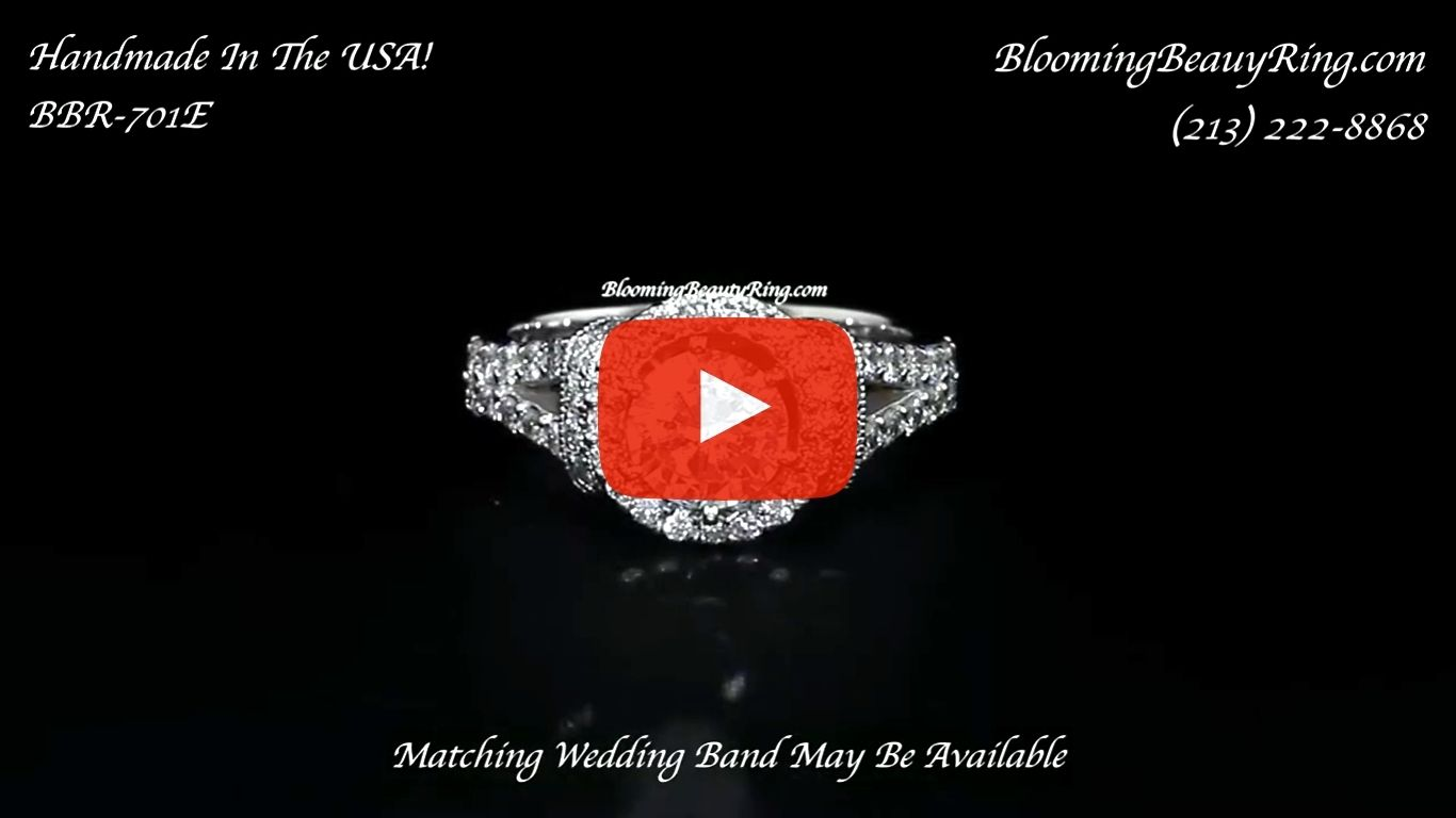 1.00ctw Endless Love Diamond Engagement Ring – bbr701 laying down video