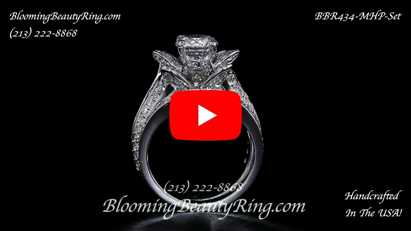 1.67 ctw. Original Small Blooming Beauty Flower Ring Set – bbr434mset