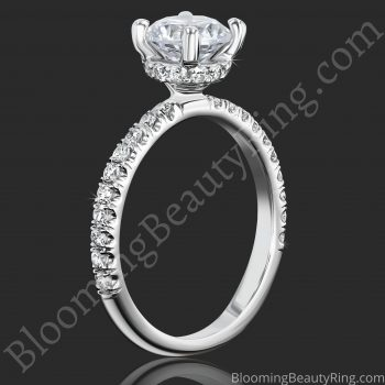 0.50 ctw Diamond Engagement Ring BBR-738E