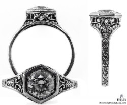 101bbr vintage filigree rings