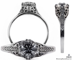 132bbr vintage filigree rings
