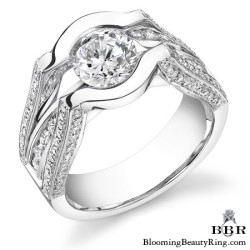 Newest Engagement Ring Design - nrd-197-1