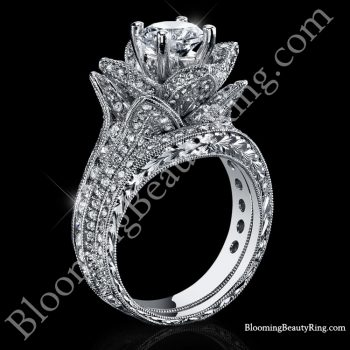 208-ctw-large-hand-engraved-blooming-beauty-wedding-ring-set-bbr434en-set
