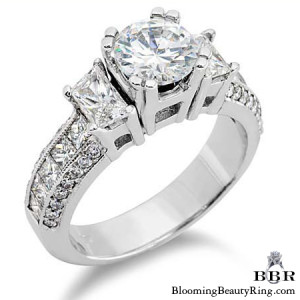 1.10 ctw. 14K Gold Diamond Engagement Ring – nrd215