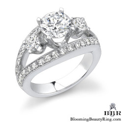 1.15 ctw. 14K Gold Diamond Engagement Ring - nrd318