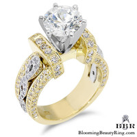 1.15 ctw. 14K Gold Diamond Engagement Ring – nrd332-3