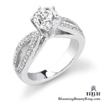 .28 ctw. 14K Gold Diamond Engagement Ring – nrd335