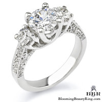 .90 ctw. 14K Gold Diamond Engagement Ring – nrd336