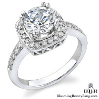 .33 ctw. 14K Gold Diamond Engagement Ring – nrd337