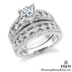 Newest Engagement Ring Design - nrd-348eb