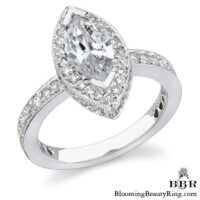 .82 ctw. 14K Gold Diamond Engagement Ring – nrd349