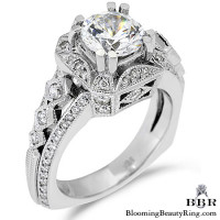 .65 ctw. 14K Gold Diamond Engagement Ring – nrd355