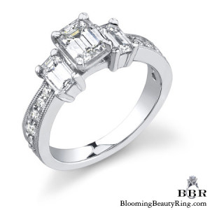 1.06 ctw. 14K Gold Diamond Engagement Ring – nrd360
