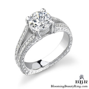 .38 ctw. 14K Gold Diamond Engagement Ring – nrd400
