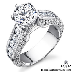 Newest Engagement Ring Design - nrd-411e-1