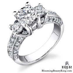 1.40 ctw. 14K Gold Diamond Engagement Ring - nrd428