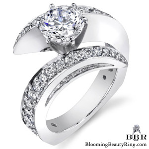 1.15 ctw. 14K Gold Diamond Engagement Ring – nrd442