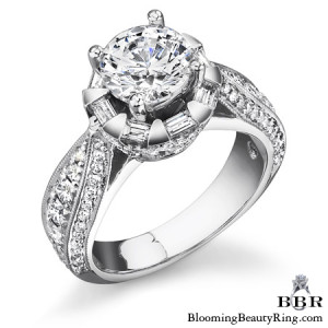 1.35 ctw. 14K Gold Diamond Engagement Ring – nrd458
