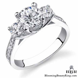 .75 ctw. 14K Gold Diamond Engagement Ring - nrd475