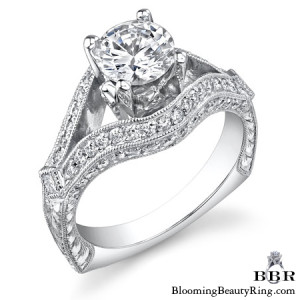 .66 ctw. 14K Gold Diamond Engagement Ring – nrd500