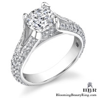 1.06 ctw. 14K Gold Diamond Engagement Ring – nrd501