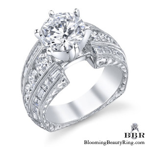 2.39 ctw. 14K Gold Diamond Engagement Ring – nrd505-1