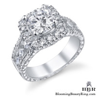 1.25 ctw. 14K Gold Diamond Engagement Ring – nrd506-1