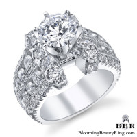 3.25 ctw. 14K Gold Diamond Engagement Ring – nrd510