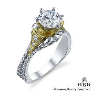 .65 ctw. 14K Gold Diamond Engagement Ring – nrd518-1