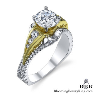 .65 ctw. 14K Gold Diamond Engagement Ring – nrd518