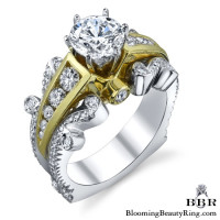 1.05 ctw. 14K Gold Diamond Engagement Ring – nrd519
