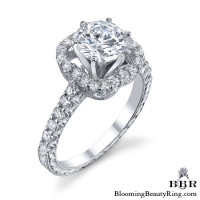 .58 ctw. 14K Gold Diamond Engagement Ring – nrd522