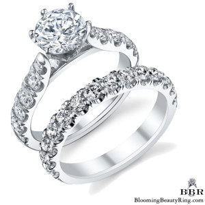 1.78 ctw. 14K Gold Diamond Engagement Ring Set – nrd546b