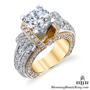 2.85 ctw. 14K Gold Diamond Engagement Ring – nrd557-1