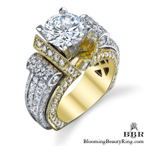 3.35 ctw. 14K Gold Diamond Engagement Ring – nrd557