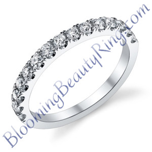 VWR-584b | Split Prong Vintage Wedding Ring