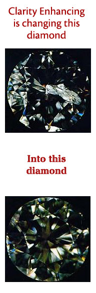 Clarity Enhanced Diamonds