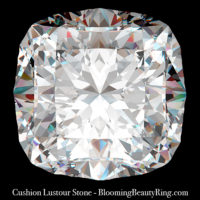 2 ct. Cushion Lustour Stone