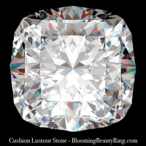 1.0 ct. Cushion Cut Lustour Stone