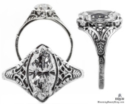 m002bbr vintage filigree rings