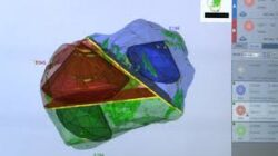 Machines used to plan how a diamond will be cut