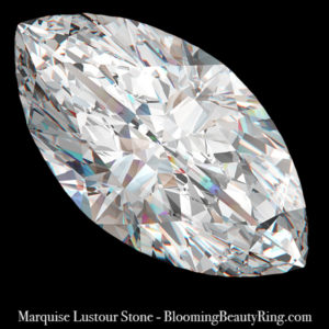 .50 ct. Marquise Cut Lustour Stone