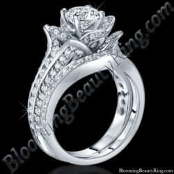 Original Small Blooming Beauty Flower Ring Set