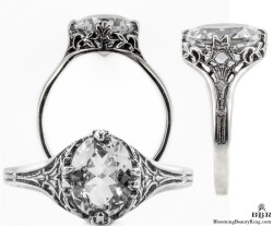 ov009bbr antique filigree engagement rings