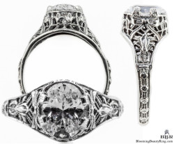 ov015bbr antique filigree engagement rings