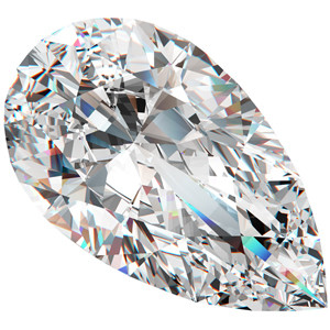 choose the right diamond shape - pear diamonds