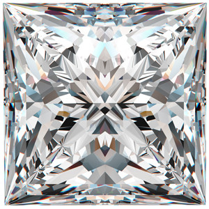 choose the right diamond shape - princess diamonds