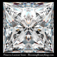 .75 ct. Princess Lustour Stone